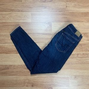 AE Super Super Stretch X Hi Rise Jegging Jeans